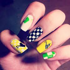 louis vuitton spring summer 2013 inspired nail art nail art u0027scape