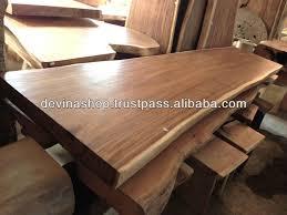 suar wood solid slab wood dining table suar wood solid slab wood