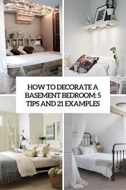 How To Decorate Walls by How To Decorate A Basement Bedroom 5 Ideas And 21 Examples Digsdigs