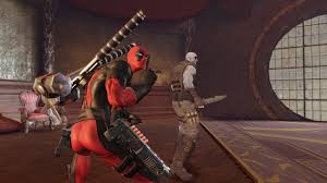 Deadpool game screenshot