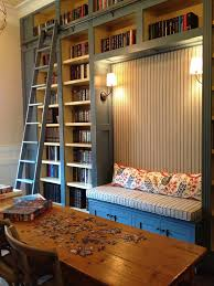 friday favorite library bookcases with ladders homework nook