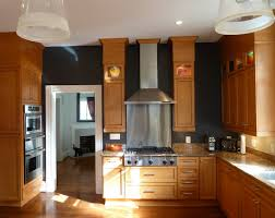 Kitchen Oak Cabinets by This Is How To Deal With Honey Oak Cabinets Paint The Walls