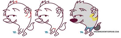 werewolf halloween drawings u2013 halloween wizard
