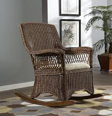 Rocking Chairs At Walmart Amazon Com Wicker Indoor Rocking Chair With Cushion Baby