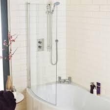 1500 mm b bath b shaped bath curved bath screen melbourne