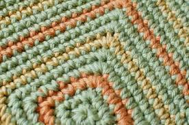 Seeing Squares Crochet Dishcloth Pattern | Petals to PicotsPetals