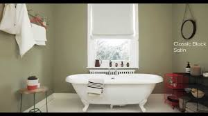 Bathroom Paint Designs Bathroom Ideas Using Olive Green Dulux Youtube