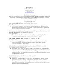 Resume Format Nursing Job by Telemetry Nurse Resume Sample Free Resume Example And Writing