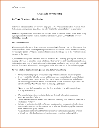 Paper With Writing Sample Apa Research Paper With Table Of Contents