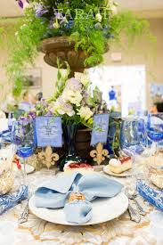 Black Blue And Silver Table Settings The 10 Best Images About Fleur De Lis Cobalt Blue And White Silver