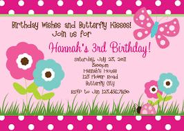 Birthday Invitation Cards Models Girls Birthday Invitations Themesflip Com