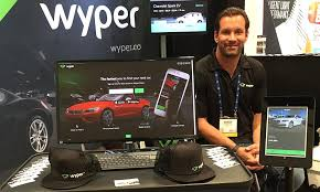 Mobile app brings online dating mentality to car shopping Automotive News Aaron Rosenthal     s Wyper app lets shoppers swipe through images of new and used vehicles from more than        dealership sites