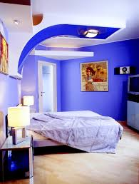 Kids Bedroom Futuristic Design Of Boys Bedroom In Bright Blue And - Bedroom colors blue