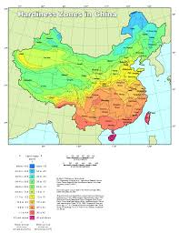 Map For United States by Plant Hardiness Zone Map For China The How Do Gardener