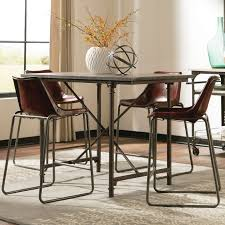 Donny Osmond Kirkwood Counter Height Dining Table  Reviews Wayfair - Counter height kitchen table