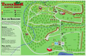 Map Nj Campsite Map 58 Honey Run Rd Blairstown New Jersey