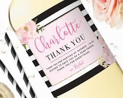 thank you u0026 hostess gifts u2014 studio b labels