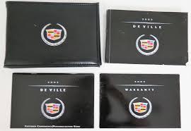 2002 cadillac deville owners manual guide book u2022 19 24 picclick