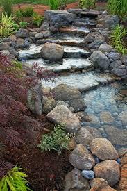 Top  Best Water Features Ideas On Pinterest Garden Water - Backyard river design