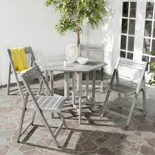 Safavieh Dining Room Chairs by Outdoor Collapsible Dining Table Set Zola