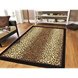 Cow Print Rugs Amazon Com Print Area Rugs Runners U0026 Pads Home Décor Home