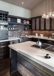 Home Design Eugene Oregon Rustic Kitchen Island Modern Home In Eugene Oregon By Jordan