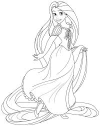 tangled pascal coloring pages getcoloringpages com