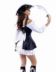 Sexiest Pirate Halloween Costumes Waisted Pirate Costume Dress Costumes