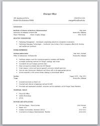 Resume Examples With No Work Experience     resume samples for     happytom co
