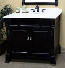 White Bathroom Vanity With Granite Top by 42 Bathroom Vanity With Top Single Sink Black 42 Inch Bathroom