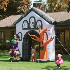 Inflatable Halloween Train by Airblown Inflatable Halloween Decorations The Real Like