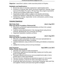 Cover Letter  Resume Summary Example With Qualifications Summary In Customer Service Relation And Experience Highlights