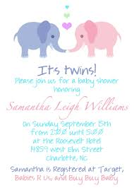 twin pregnancy announcement wording baby shower invitation