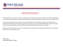 Career Objective For Bank Global Ime Bank Ltd The Bank For All