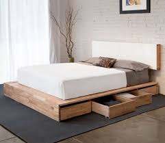 King Platform Bed Plans With Drawers by Best 10 Platform Bed With Storage Ideas On Pinterest Platform