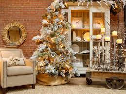 living room red gold baubles christmas tree with gold christmas