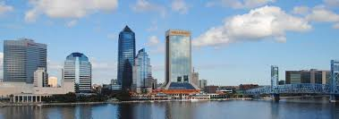 Map Of Florida Cities And Towns by Google Map Of Jacksonville Florida Usa Nations Online Project