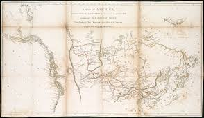 A Map Of America by File A Map Of America Between Latitudes 40 And 70 North And