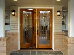 Front Entry Way by Fabulous Wooden Front Doors With Glass Tile Entryway Ideas Photos
