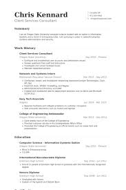Client Services Resume Samples   VisualCV Resume Samples Database VisualCV Client Services Consultant Resume Samples