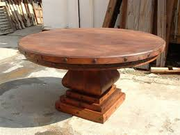 Farm To Table San Antonio by Round Mesquite Table By The Rustic Gallery Of San Antonio Tx