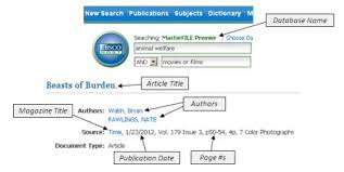 APA Citation Guide  NSC Library Online Amazon com APA Reference Page