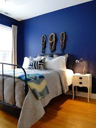 Bold  Beautiful Blue Wall Paint Colors Blue Wall Paints - Bedroom colors blue