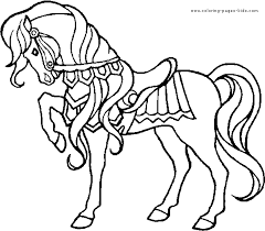 horse coloring pages horse coloring pages cartoon horse coloring