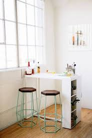 for small studio add mobile bar eating and added counter find this pin and more kitchen bar