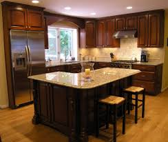 granite backsplash ideas kitchen traditional with arched doors