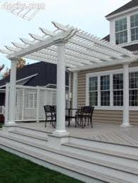Deck Pergola Ideas by Cedar Deck With Built In Benches And Planter Boxes Low Voltage