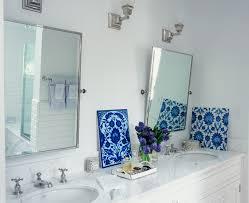 Bathroom Mirror Ideas On Wall Bathroom Wall Mirrors Brushed Nickel 23 Cute Interior And Bathroom