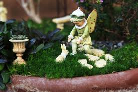 fairy gardens preparing them for winter plus book giveaway