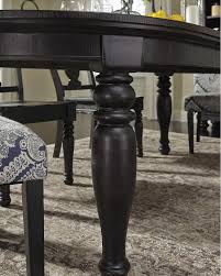 Oval Dining Room Tables D63535 In By Ashley Furniture In Orange Ca Oval Dining Room Ext